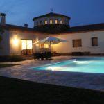 Pool by night Calonge
